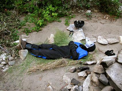 sleeping-drysuit