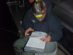 Recording Recptured Fish