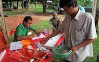 Laos PRD Measuring Fish