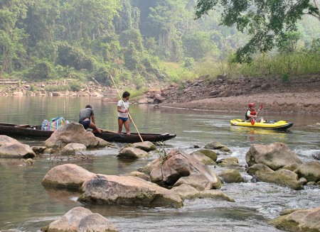 Kayaking the Nam Ou River