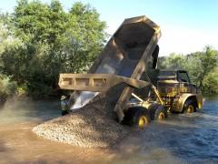 Gravel Dumping