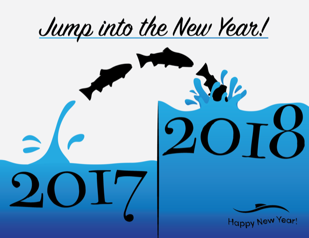 2018 New Year graphic