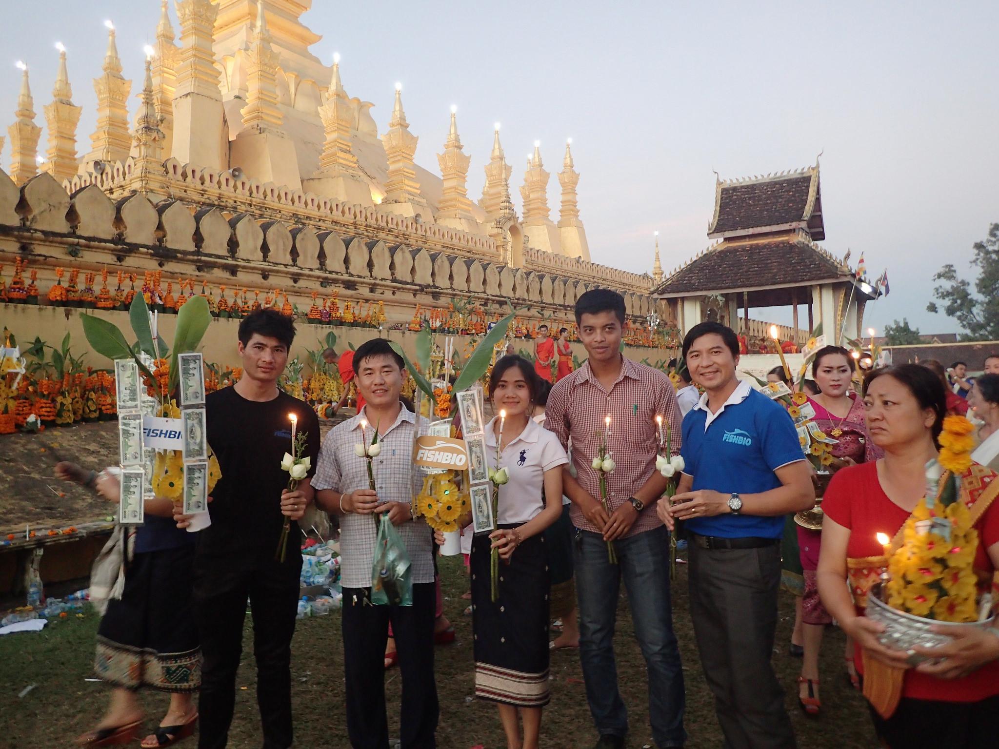 FISHBIO Laos staff