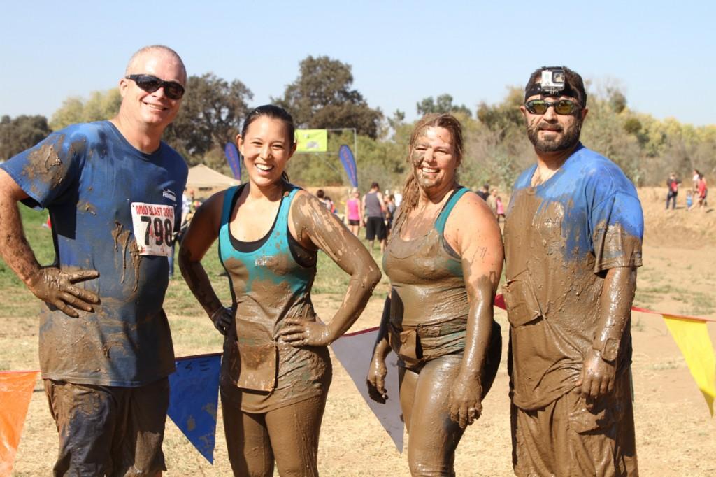 Team FISHBIO at Mud Blast