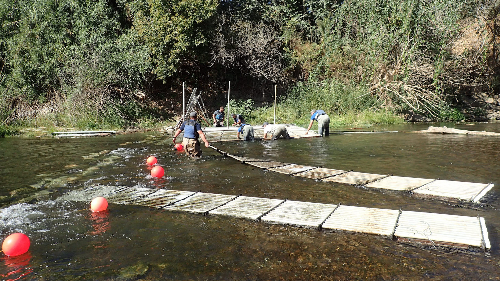 Adding weir panels