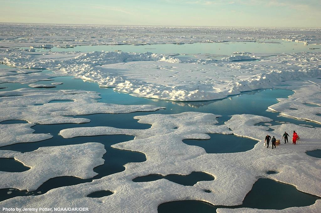 Arctic meltwater