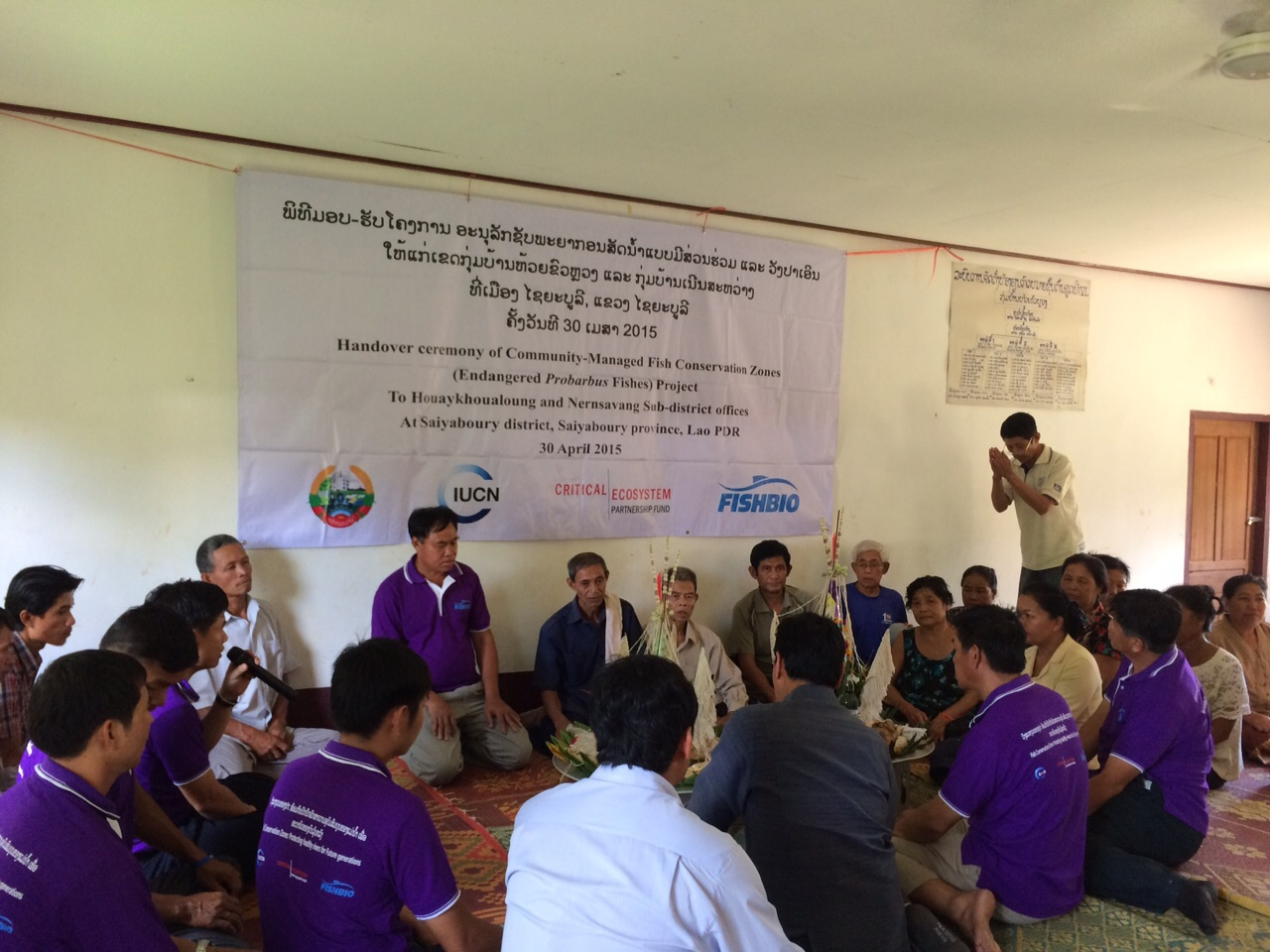 Basi Ceremony at FCZ Handover Workshop