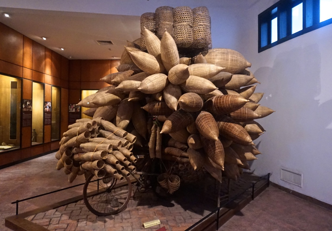 Bicycle full of Fish Traps