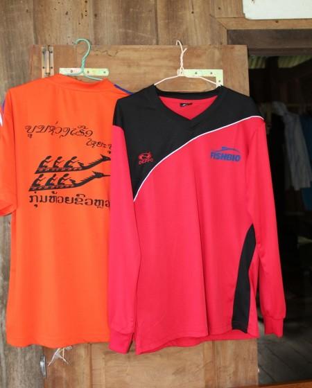 Boat racing shirt with long sleeve
