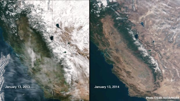 California's disappearing snowpack