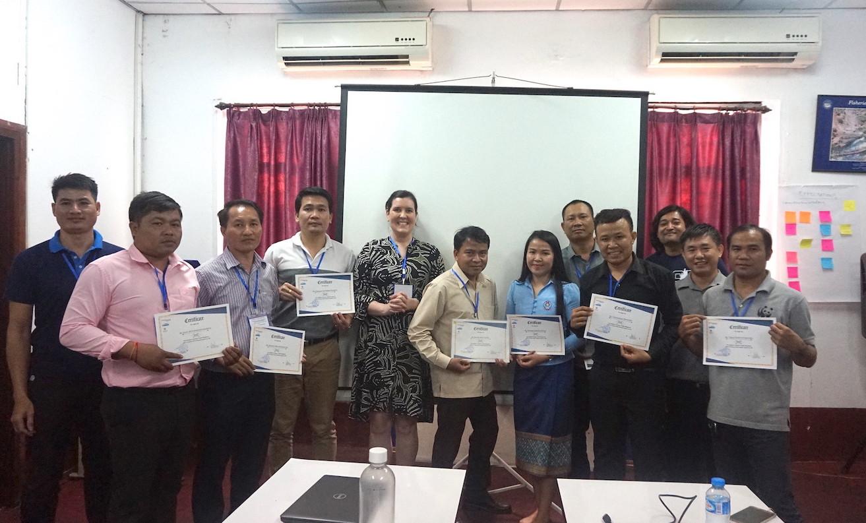 Conflict management training participants