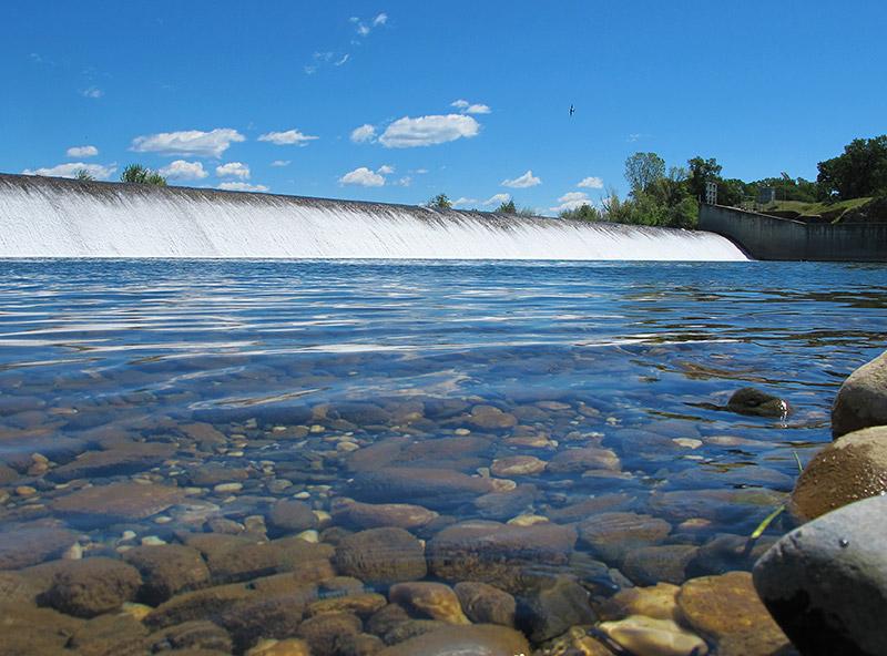 Daguerre Point Dam