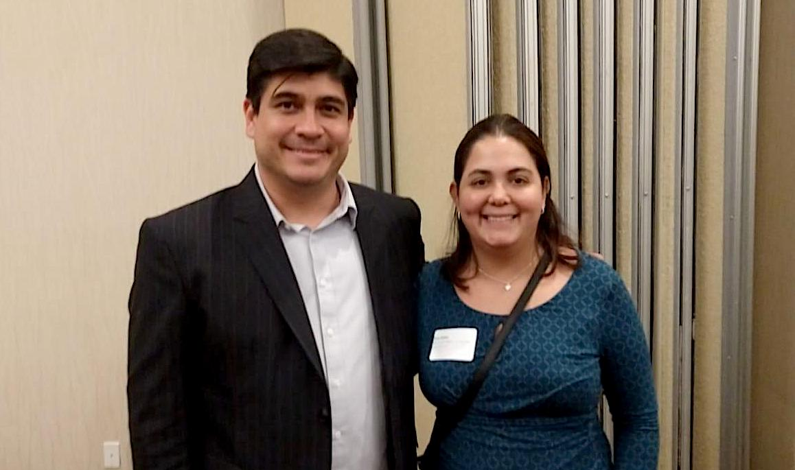 Eva and Costa Rican President