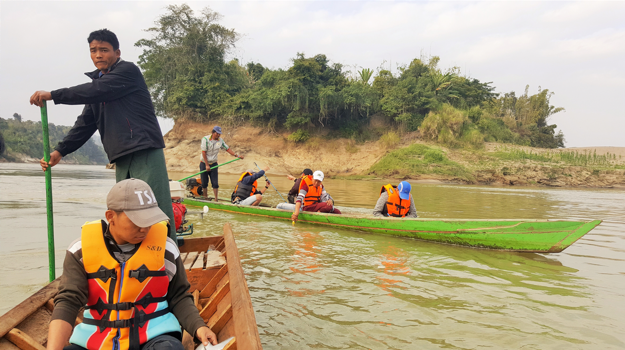 FCZ Habitat Survey at Limpa Village Chindwin River