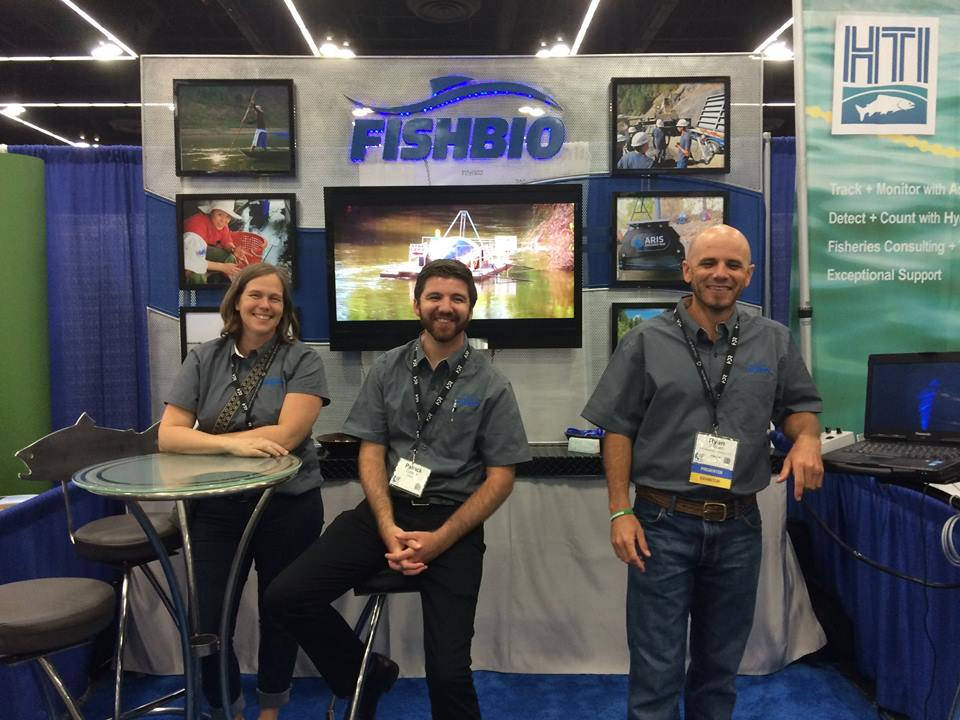 FISHBIO staff at AFS