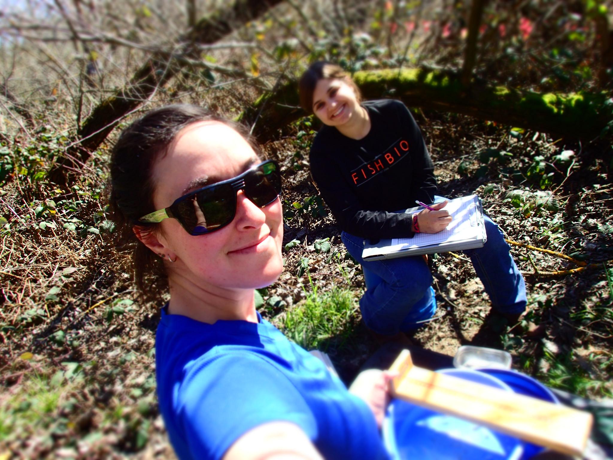 Fieldwork selfie