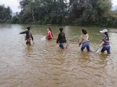 Fishing on location