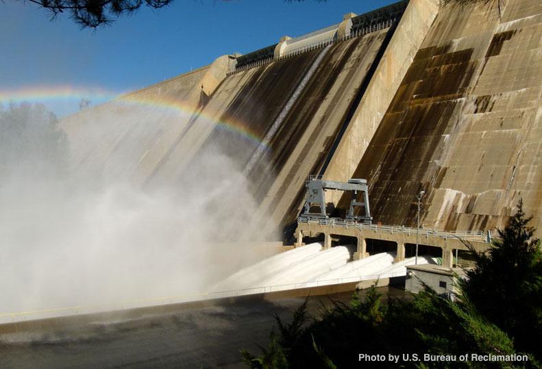 Friant_Dam_Flood_Release_Bureau of Reclamation
