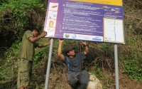 Inspecting FCZ signs