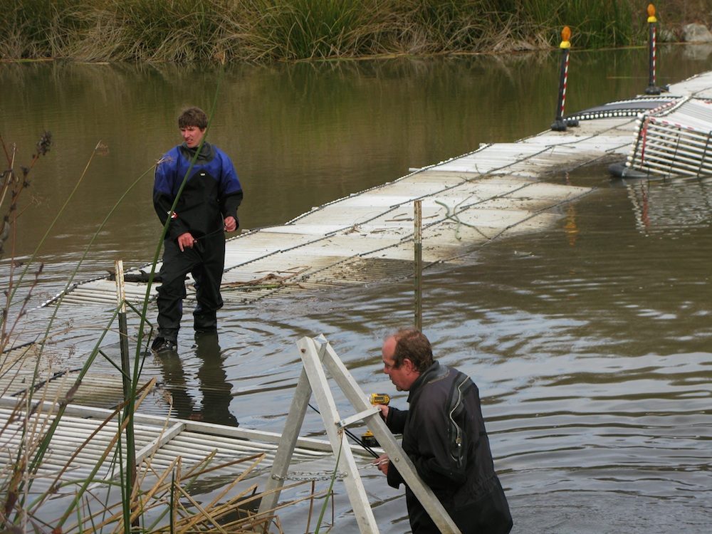 Installing Weir