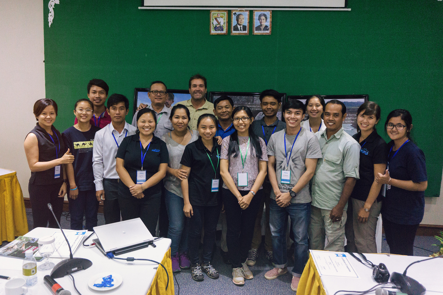 Mekong Conservation Workshop group photo