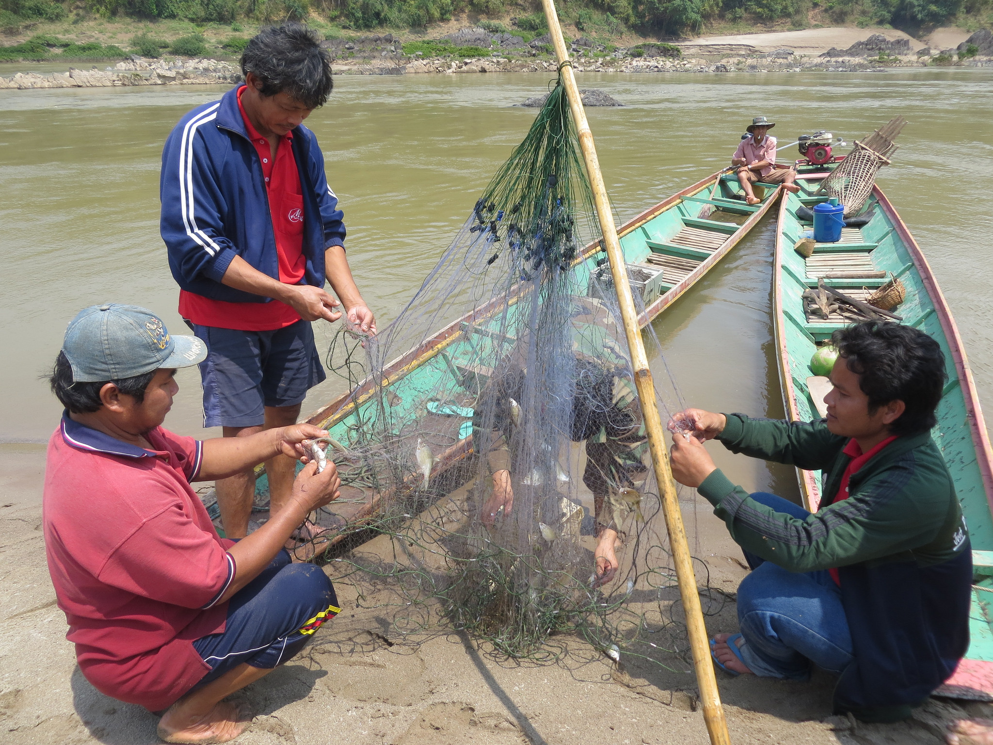 Mekong fishermen
