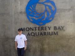 Mout at Monterey Bay Aquarium