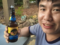 Mout holding mango beer