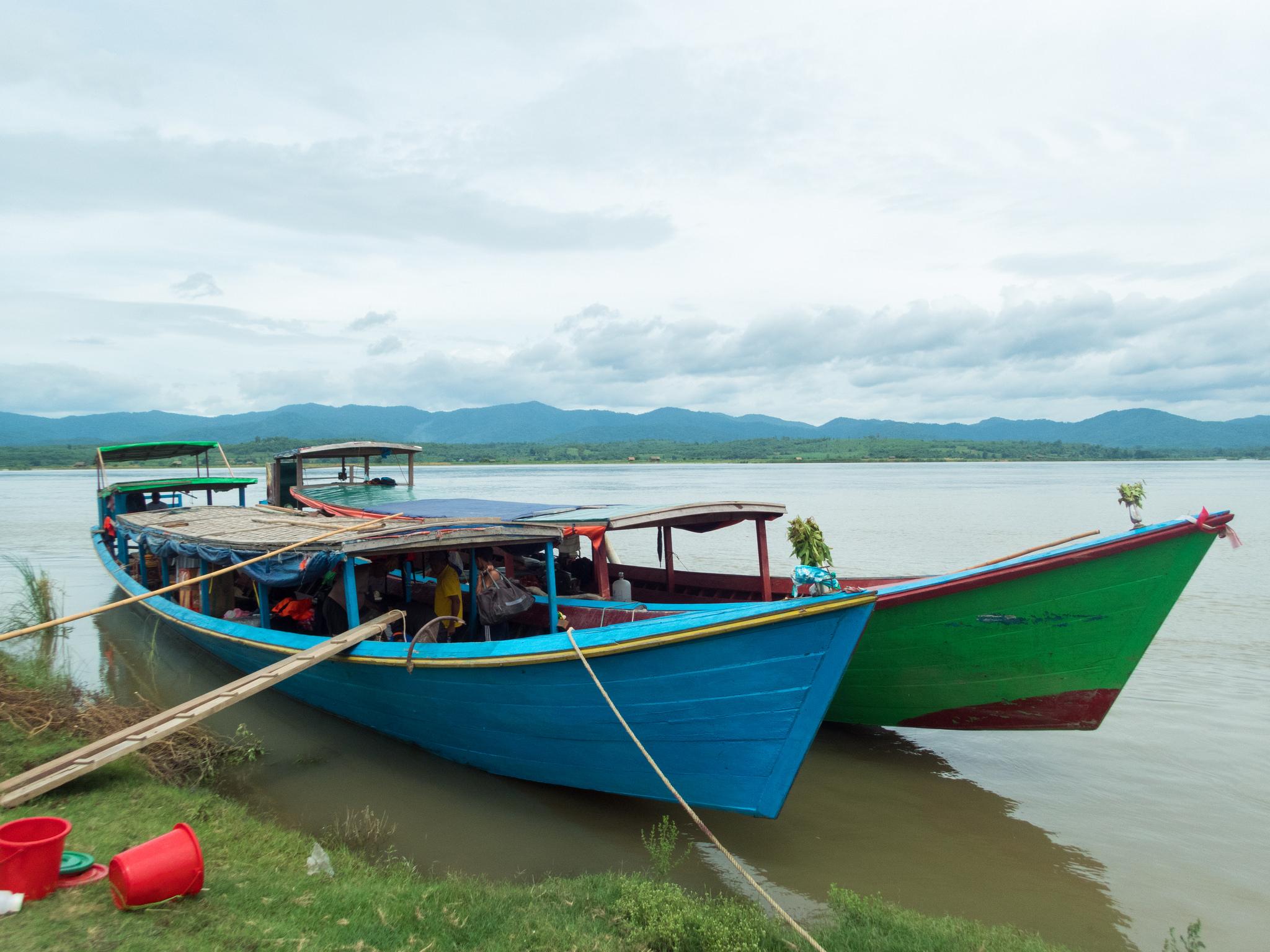 Myanmar boat Ayeyarwady River