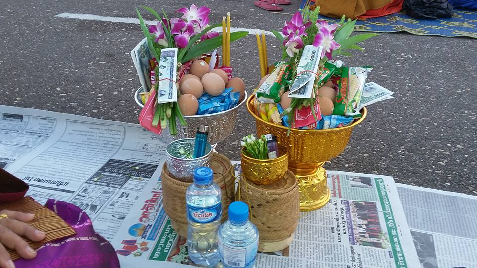 Offerings for monks