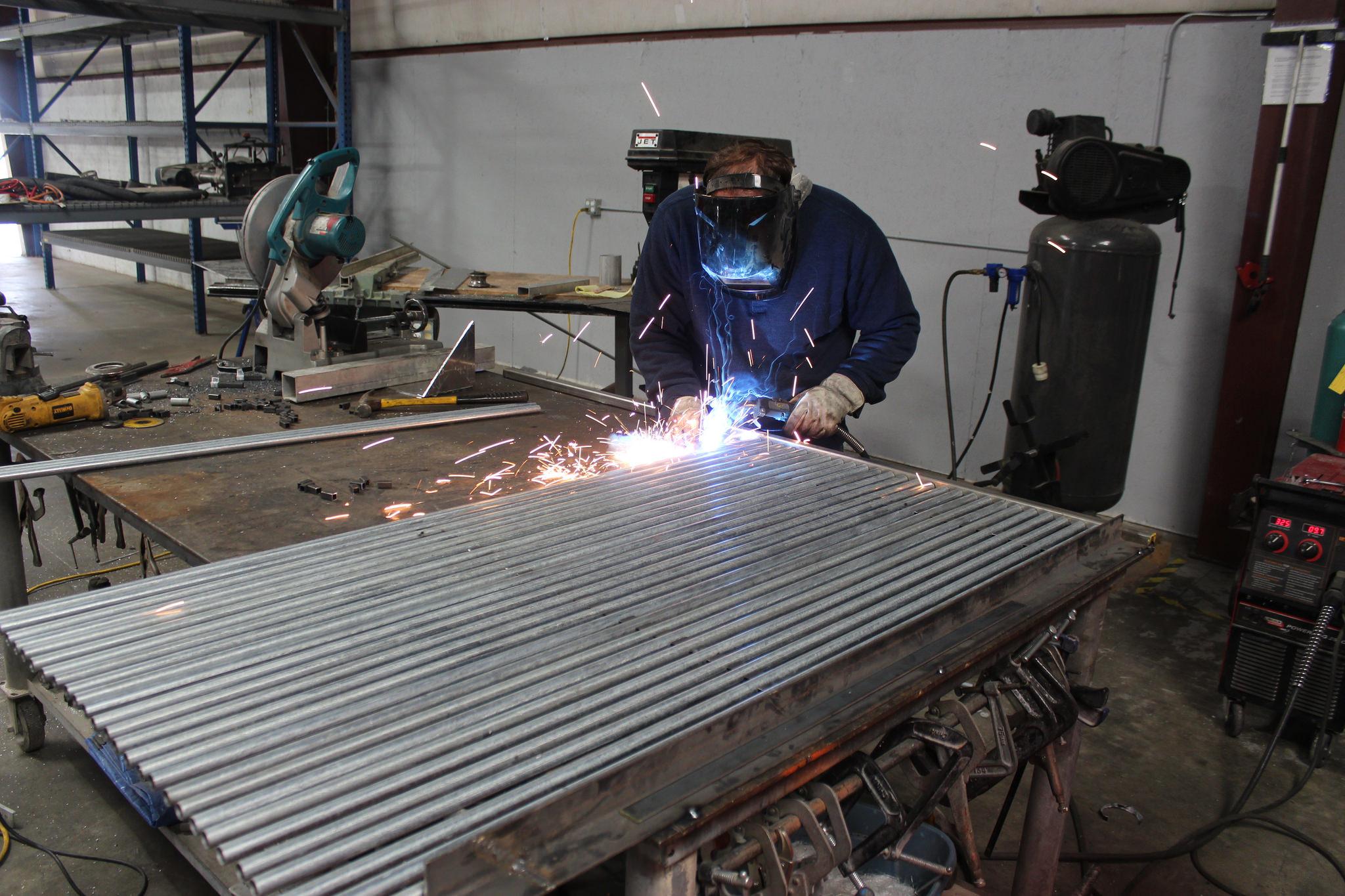 Rigid Weir Fabrication