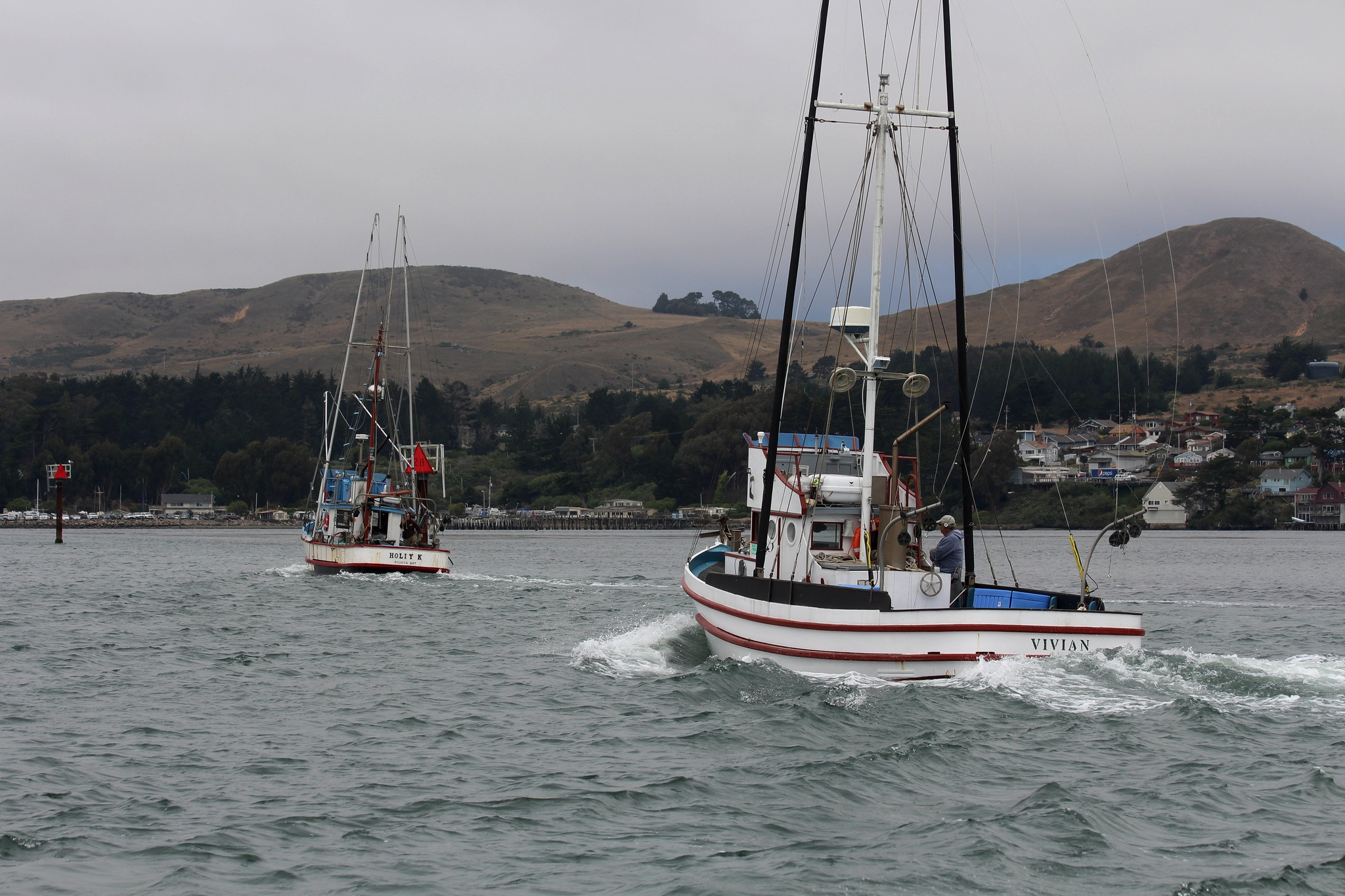 Commerical Salmon Fishing Boats