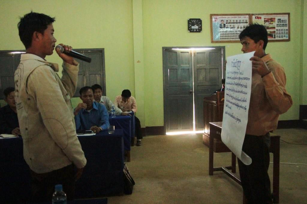 Sharing results of conflict management exercise FCZ echange visit