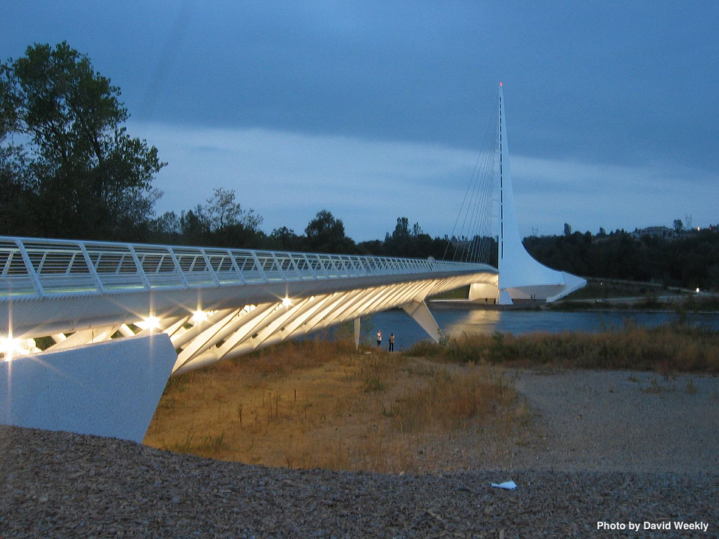 Sundial Bridge in Redding California