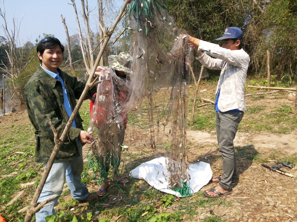 Sython and fishing net