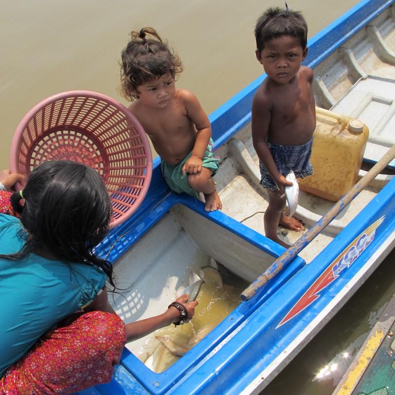 Tonle Sap fisher family