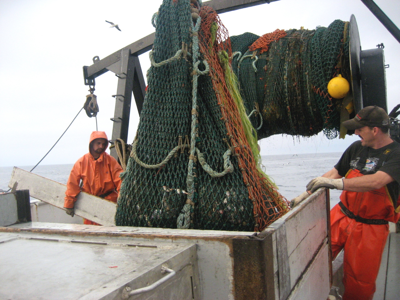 Traditional trawling methods