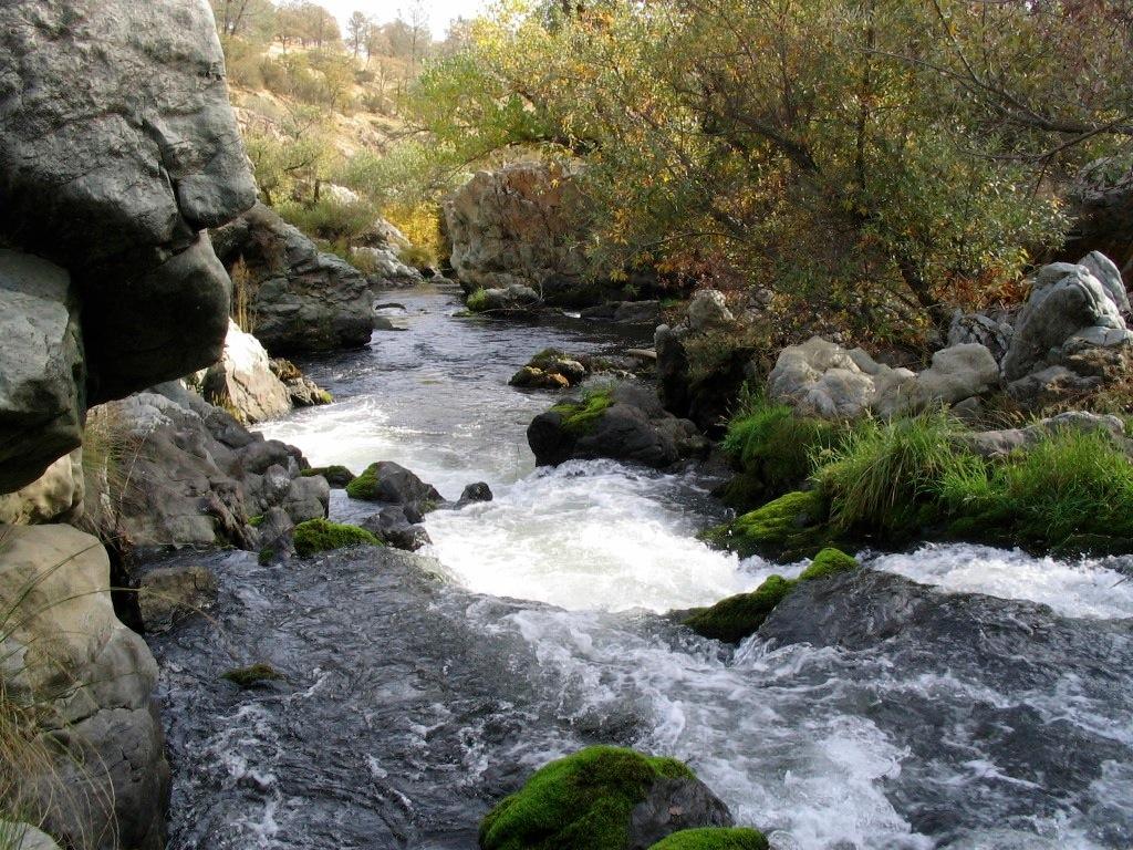 Upper Calaveras River Falls