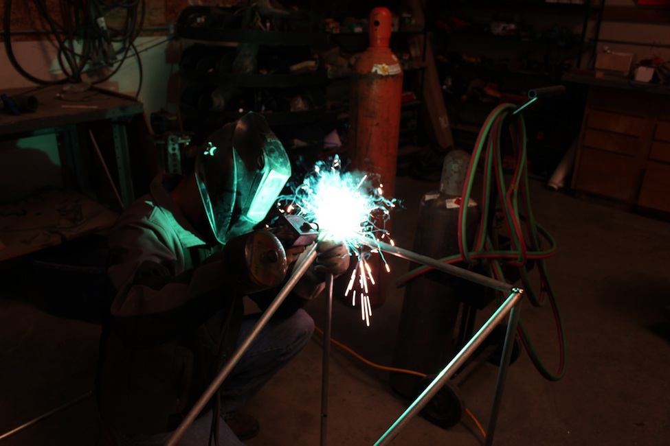 Welding in the FABLAB