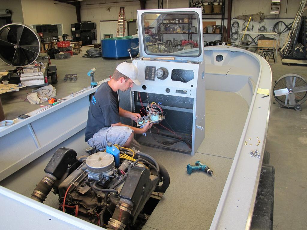boat rebuild
