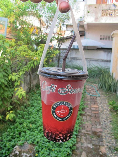 Lao coffee to go