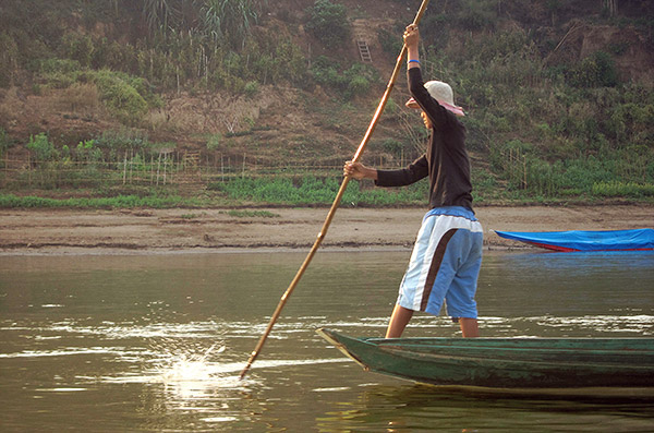 Navigating the Mekong River