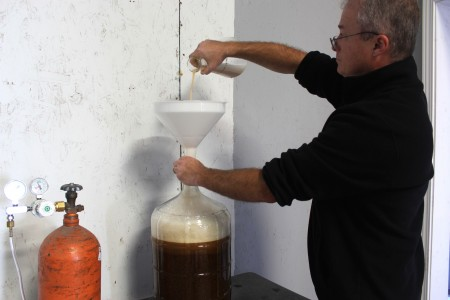 pitching yeast