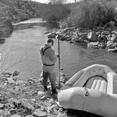 Preparing for a river run