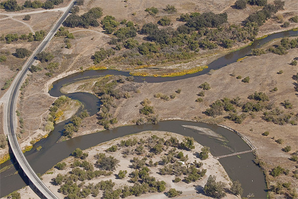 San Joaquin River tributary