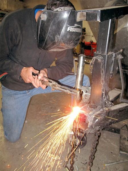 trailer welding